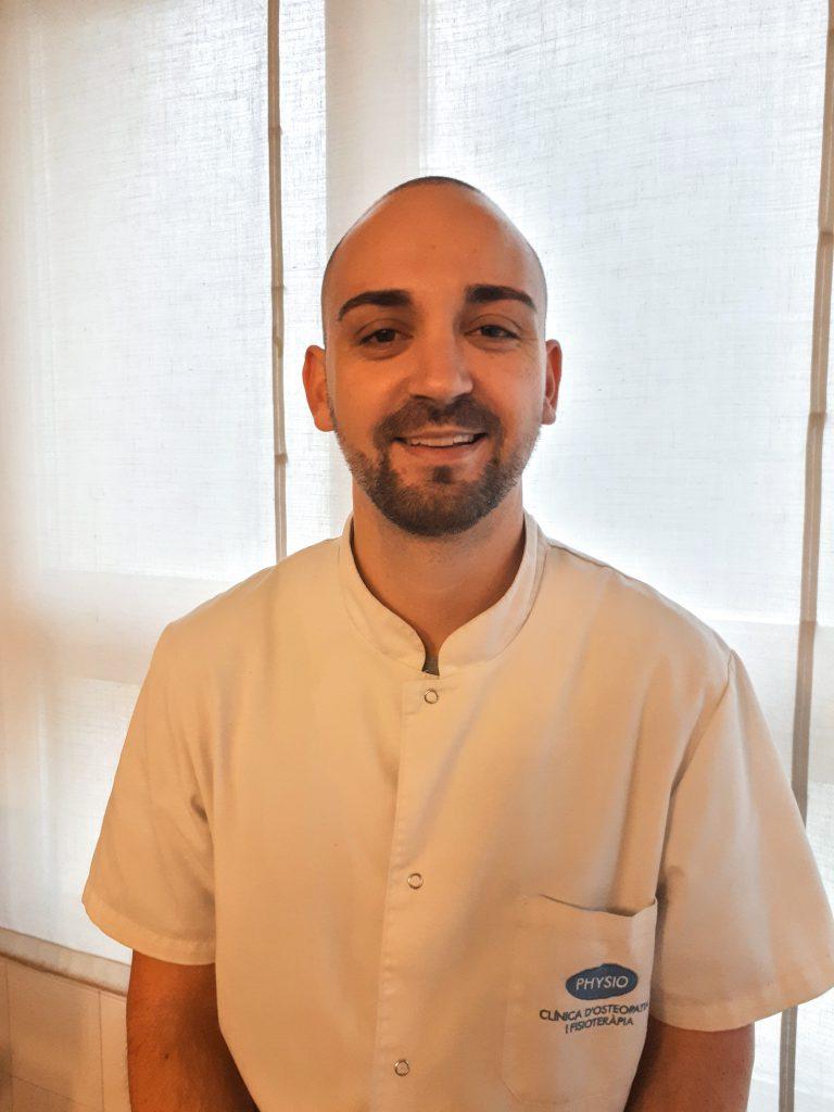 Guillem Hugas - Osteòpata i soci de PHYSIO