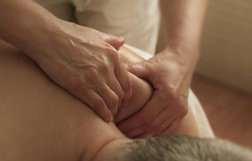 Fisioteràpia - massatge per a l'apartat de Massoteràpia de la pàgina inici de PHYSIO